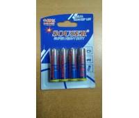 """Набор алкалиновых батареек """"Souser"""", тип AA, 4 шт"""