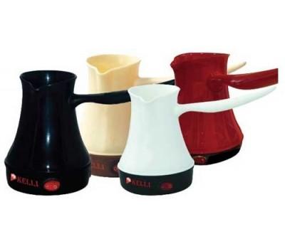Кофеварка-турка KELLI KL-1444 (2 чашки) 0.25л, 500Вт