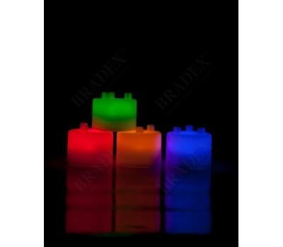 Лампа-ночник из цветных блоков «СЕМИЦВЕТИК» (Tangeez - Tangible Lights)