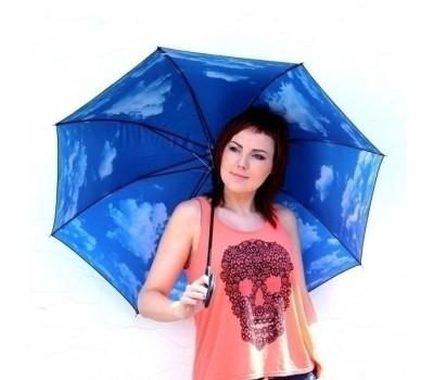 Зонт трость Небо с облаками