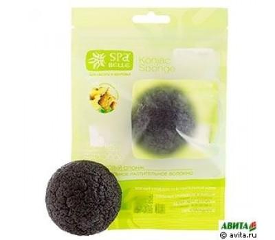 SPA Belle Спонж конжаковый экстракт бамбуковый уголь