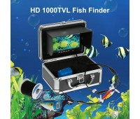 7 Цветной Цифровой ЖК 1000TVL Эхолот HD DVR Рекордер водонепроницаемый 30м