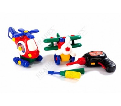 Конструктор детский «МАЛЕНЬКАЯ АВИАЦИЯ» (Take Apart Airplane)