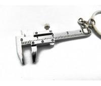 2016 новый металл подвижный штангенциркуль правитель модель брелок Keyring инструмент подарков бесплатная доставка и оптовая продажа