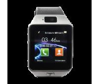 Умные сенсорные часы-телефон Smart Watch DZ09 с камерой и фитнес-функциями