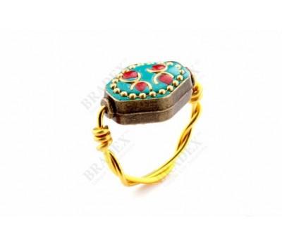 Кольцо «ИСПАНСКАЯ МОЗАИКА» размер 17 (Ring, Size 17 (RUS))