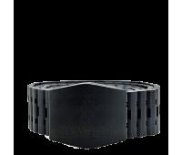 Уникальный ремень изготовленный вручную из ценной породы чёрного эбенового дерева