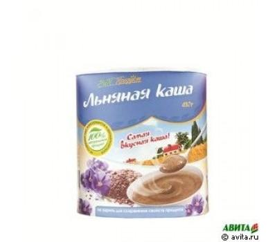 """Каша Льняная """"ВиП продукт""""410 г (тубус)"""