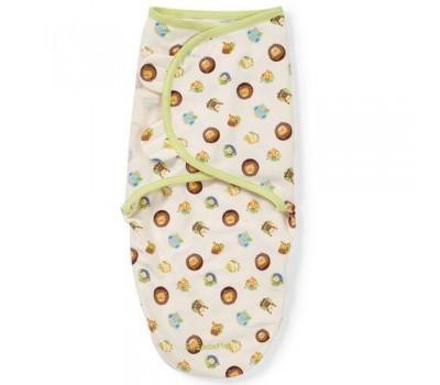 """Summer Infant """"SwaddleMe"""" Конверт для пеленания с рождения и до 4-х месяцев, 71490 / Сафари, S/M"""