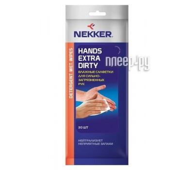 Nekker Hands Extra Dirty Detergent Wet Wipes VSK-00061092 - салфетки влажные для рук
