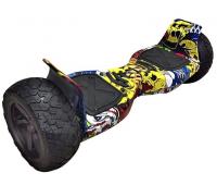 Гироскутер Smart Balance 9 Off-Road  граффити желтый