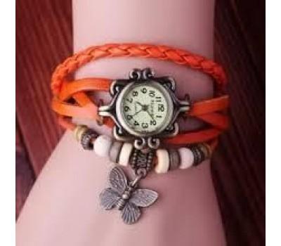 Винтажные женские часы с брелоком