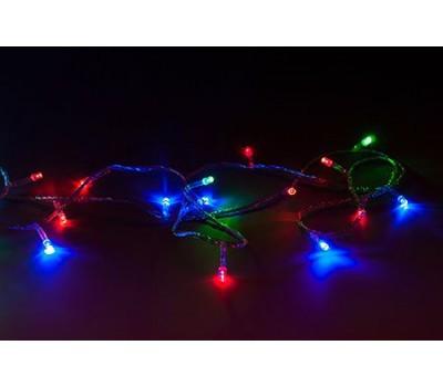 Гирлянда эллектрическая, разноцветные фонарики, 200 лампочек, 20 м