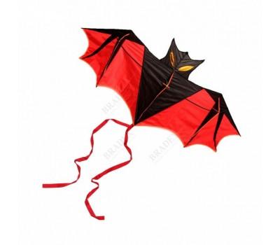 Воздушный змей «ЛЕТУЧАЯ МЫШЬ» красный (New bat)