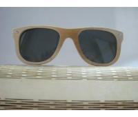 Солнцезащитные стильные очки  Bewell из бамбука