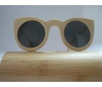 Солнцезащитные стильные очки изготовленные из бамбука Bewell