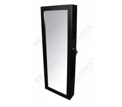 Зеркало-шкаф «ТАЙНИК», черное (Wall-mounted mirror cabinet)