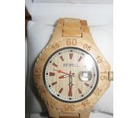 Наручные унисекс часы Bewell из дерева в подарочной деревянной коробке