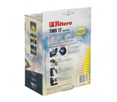 мешок-пылесборник Filtero TMS 17 Стартовый, 2 шт стартовый комплект для Thomas