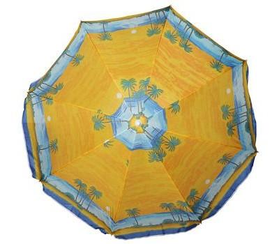 Зонт диам. 180, 8 клиньев, высота-1, 8 м, гнущ. , мат-л Polyester 170T, design 111-3