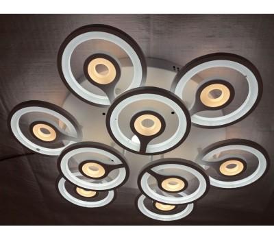 Люстра светильник потолочный с пультом Peacock LED - хай тек 50443/9