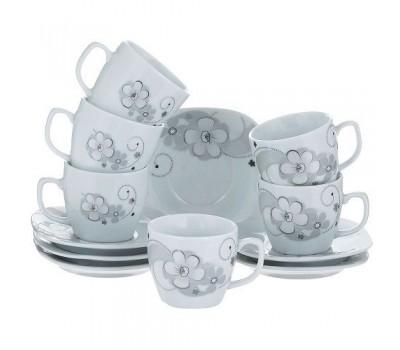 Кофейный набор BEKKER BK-6813 фарфор, 12 предметов, объем чашки: 95 мл.