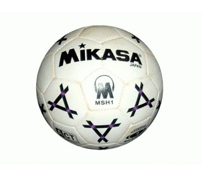 IKASA Игровой гандбольный мяч MIKASA. Синтетическая кожа, бутиловая камера, ручная сшивка, размер №3 (MSH3