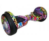 "Гироскутер Smart Balance 10"" new wheel (Graffiti Purple) + APP & Balance & TaoTao"