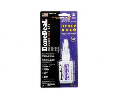 DoneDeal DD6643 30гр клей супер индустриальный