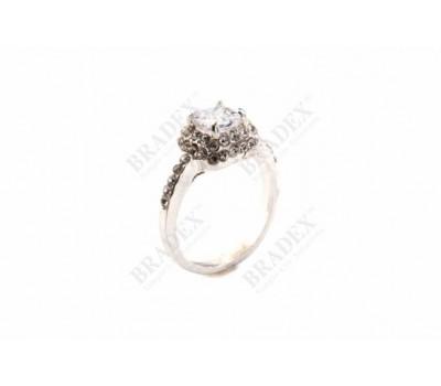 Кольцо «БРИЛЛИАНТОВЫЙ СОБЛАЗН» размер 17 (Ring HY4)