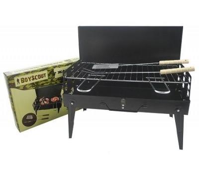 Жаровня-чемодан BOYSCOUT 61260, 41х21х5 см, в комплекте с вилкой и лопаткой /6