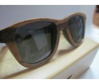 Солнцезащитные стильные очки Bewell из дерева