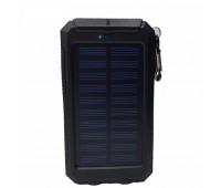 Внешний аккумулятор на солнечной батарее 20000 мАч с Led фонарём