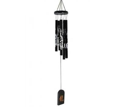 """Колокольчики ветра """"Драконы"""", бамбук, металл, 61 см"""