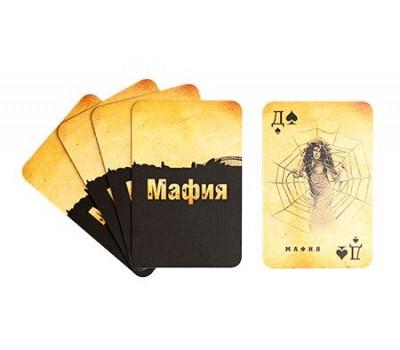"""Игра """"Мафия"""", колода карт + инструкция"""