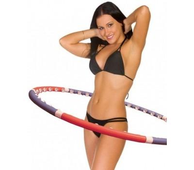 Массажный обруч Хулахуп - Acu Hoop Premium. Обруч для похудения Хула Хуп