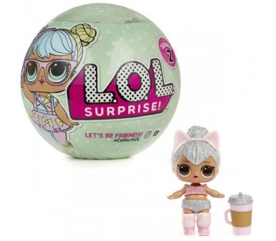 Кукла-сюрприз в шарике (Lol)