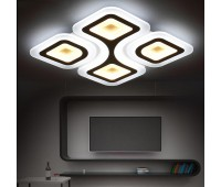 Люстра - потолочный светодиодный светильник с пультом Virald LED 70172/4
