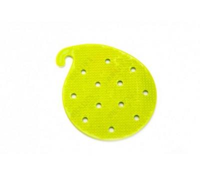 Губка для чистки овощей и фруктов многофункциональная, зеленая (Cleaner green)