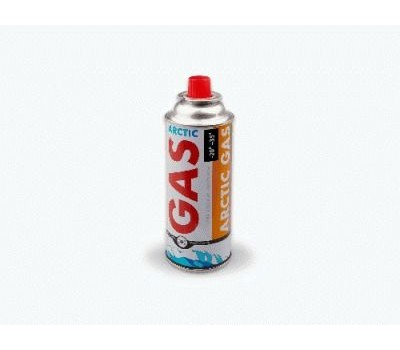 Газовый баллон 220г. Предназначен для портативных газовых приборов при температуре от -20 до +35 (горелок, плит, ламп, резаков и т.д.)(продажа только упаковками - 4шт) ARCTIC GAS