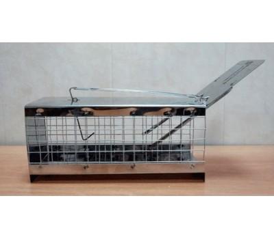 Ловушка для крыс Клетка МГ (металл+сетка)