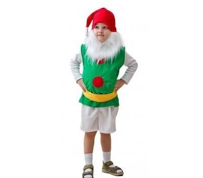 Карнавальный костюм ГНОМ ( малый), 3-5 лет, Бока