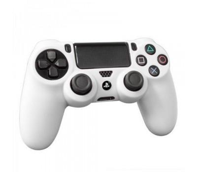 PS 4 Controller Silicon Case White