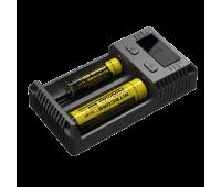 Зарядное устройство NiteCore Intellicharger NEW i2 Найткор интелличарджер ай2