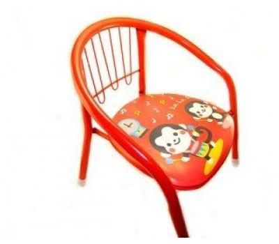 Детский стульчик металлический со звуком (цвет в ассортименте)