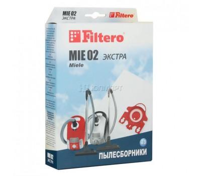 мешок-пылесборник Filtero MIE 02 Экстра, 3 шт из микроволокна
