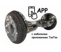 "Гироскутер Smart Balance 10"" new wheel (Black Lightning) + APP & Balance & TaoTao"