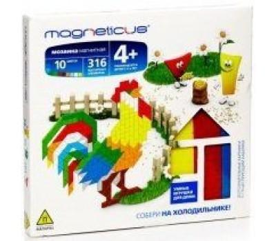 Мозаика магнитная MAGNETICUS MM-15 BL Ферма / 316 элементов / 10 цветов