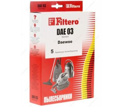 Мешок-пылесборник Standard FILTERO DAE-03