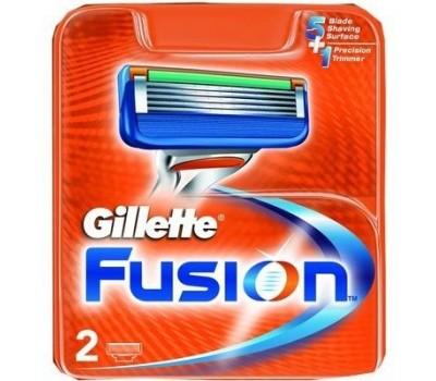 Мужские кассеты Gillette Fusion (Количество в упаковке: 2 шт. )